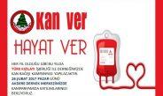 Türk Kızılayı İşbirliği Ile Kan Bağışı Kampanyamıza Hemşehrilerimizi Bekliyoruz