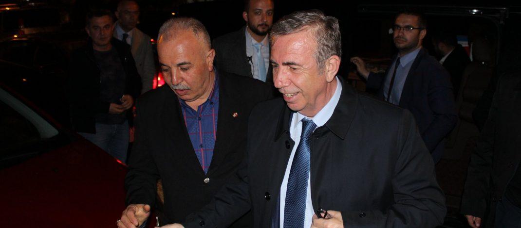 Ankara Büyükşehir Belediye Başkan Adayı Sn.Mansur YAVAŞ'ın ziyareti