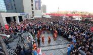 A.B.B. Başkanı Sn.Mansur YAVAŞ'ı Karaşar Zeybeği ile karşıladık.