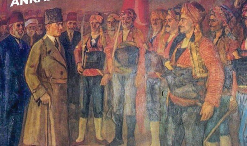 Gazi Mustafa Kemal ATATÜRK'ün Ankara'ya gelişinin 100.yılı